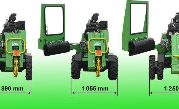 השכרת מכרסמת עצים חזקה של חברת לאסקי - F 500H / 38