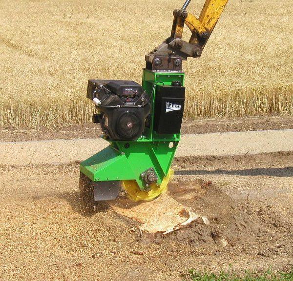מכרסמת עצים להשכרה המלצות על דגם חזק שמתאים לחיתוך שורשים - FZ 500 / 27