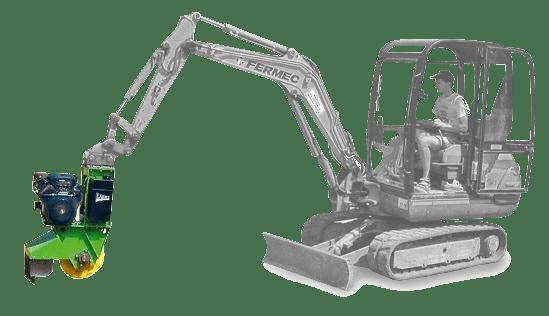 מכרסמות גדם של חברת לאסקי - דגם FZ 500 / 27