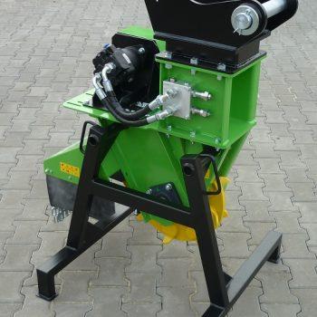 א.מ גינון - מחיר מכרסמת גזעים חזקה לכרסום עץ בשטח בנייה ואזורי תעשייה - FZ 500 H