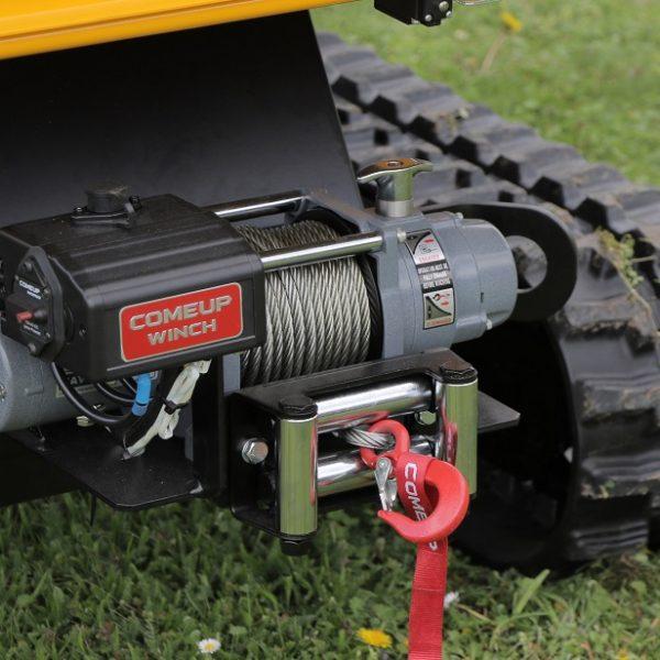 מרסקות גזם לתעשייה - דגם LS 160 DW Track