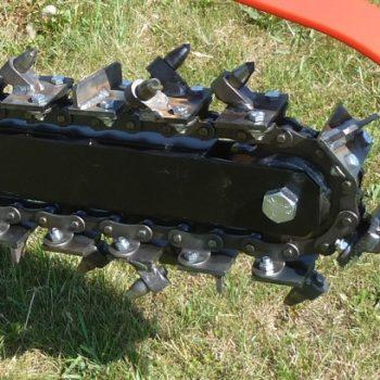 טרנצ'ר למכירה בנתניה - חריץ מתעל ליצירת תעלות - טרנצ'רים למכירה של חברת לאסקי - דגם TR 60/13 HC
