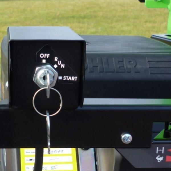 מערכת הפעלה של מכונת שואב עלים - VD 440/18