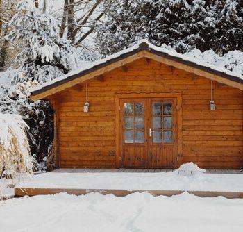 מחסן לגניה בחורף